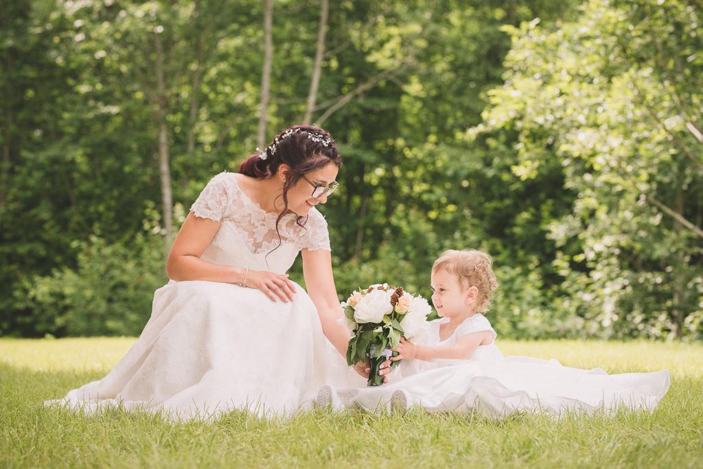 Mariage Betty & Anthony-L'enfant-le bouquet