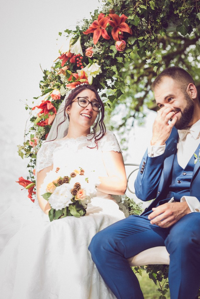 Samoens-Mariage Betty & Anthony-cérémonie laïque
