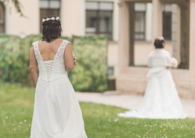 First look-Mariage Emilie & Stephanie