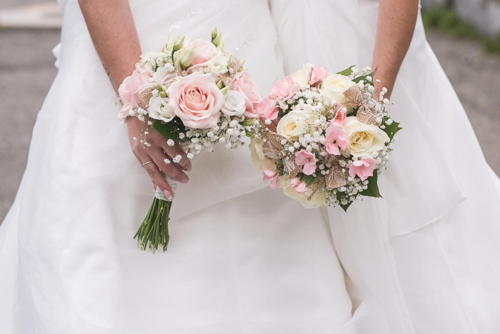 Mariage Emilie & Stephanie-Bouquet