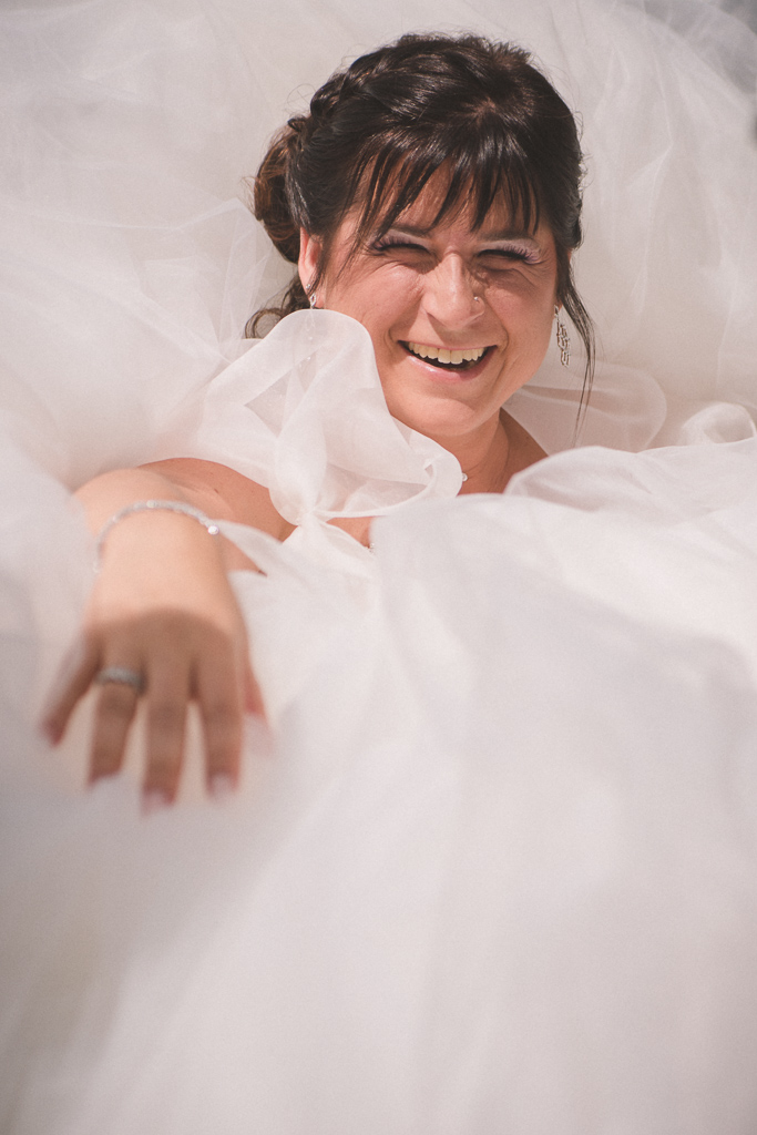 Mariage Laure & Philippe-La robe-voiture