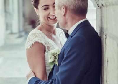 Mariage Emmanuel Amandine-les mariés-Le reposoir