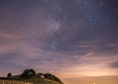 salève-voie lactée-nuit